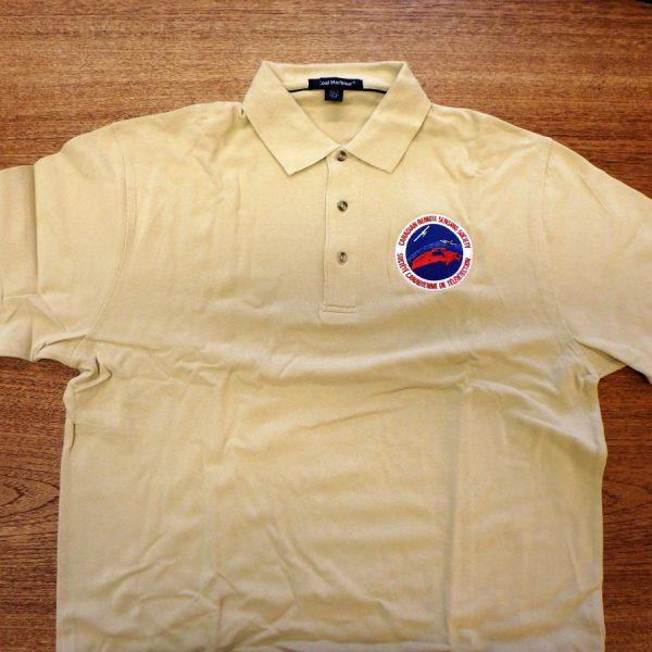 CRSS Golf Shirt - Tan