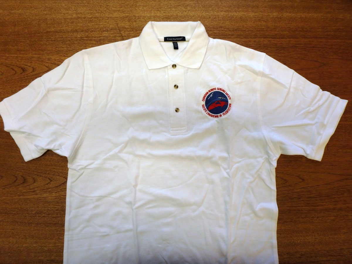 CRSS Golf Shirt - White