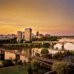 South Saskatchewan River and Downtown Saskatoon